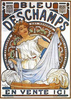 mucha, alphonse maria - Bleu Deschamps   Alphonse Maria Much…   Flickr