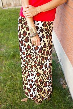 Summer Safari Free Skirt Pattern