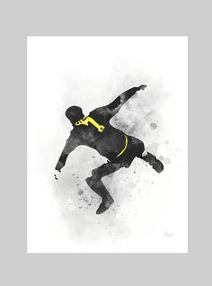 * Available sizes 10 x 8 Inches x x x For sale direct from the artist Original Art Print of Eric Cantona Kung Fu Kick illustration created with Mixed Media and a Contemporary Design Collectable fine art Manchester United Wallpaper, Manchester Art, Manchester United Football, Art Prints Quotes, Fine Art Prints, Eric Cantona, Original Art, Original Paintings, Kung Fu