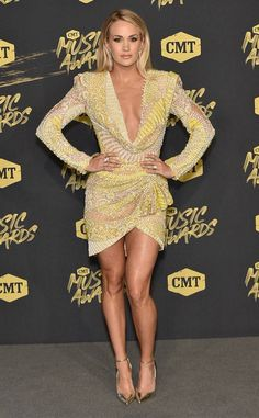 Carrie Underwood from CMT Music Awards 2018: Red Carpet Fashion | E! Online