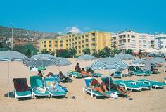 Kleopatra Dreams Beach Hotel in Alanya, Turkije (2012)