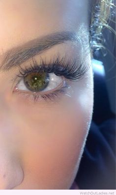 Awesome eyelash extensions