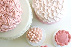 beautiful cake decorating techniques from one of my all time favorite blogs girl.inspired