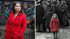 Oliwia Dabrowska, the little girl in 1993's 'Schindler's List' (Photo: Panos Pictures/Alamy), is getting her master's degree in library science.  Ms Dabrowska continues to act in her spare time and is currently in her third year of a Library Science degree and hopes to go into publishing.  Read more: http://www.dailymail.co.uk/news/article-2287890/Schindlers-List-Trauma-girl-red-coat-holocaust-icon.html#ixzz2MhoQlZNR