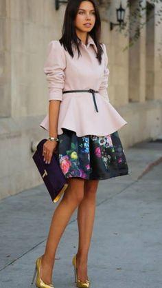 Mimi Ikonn Black Turtleneck Winter Outfit Feminine