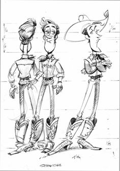skinny characters designs - Google Search