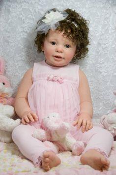 Custom Order New Release Toddler Reborn KATIE MARIE Ann Timmerman OOAK Baby Girl | eBay