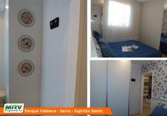 Apartamento decorado 2 quartos do Parque Valence no bairro Carapebus - Serra - ES - MRV Engenharia - MRV Engenharia - Quarto Casal
