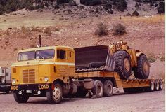 KW and cat988A.300hp 988 with no cab from mid 1960s