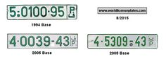 Palestinian License Plates