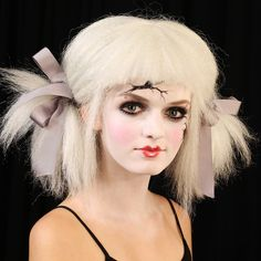Our Halloween look, Creepy Doll, from Film and Celebrity Makeup Artist Ve Neill.  Check it out on The Violet Underground and tag your looks with #UDHALLOWEEN - we'll be sharing our faves!