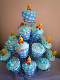 Duck-themed baby shower!