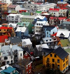 Colorful Reykjavík Iceland  NCO eCommerce,  www.netkaup.is
