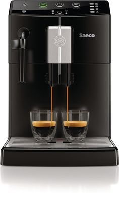 Saeco Minuto Focus espresso machine features dual pressure lever that makes espresso and brews regular coffee from whole beans. Cappuccino Maker, Cappuccino Coffee, Cappuccino Machine, Espresso Maker, Espresso Machine Reviews, Best Espresso Machine, Drip Coffee Maker, Coffee Cups, Automatic Espresso Machine