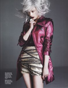 After School's Nana Singles Korea Magazine March Issue '13