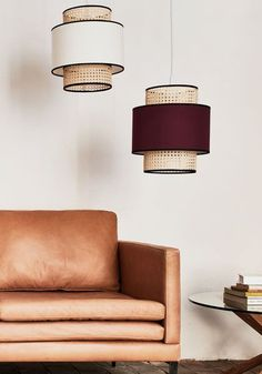 10 pieces deco a petit prix qui paraissent 10 fois leur prix - Mode Ideen Foyer Lighting, Dining Room Lighting, Interior Lighting, Lighting Ideas, Dining Rooms, Pendant Lighting, Modern Interior, Home Interior Design, Chandelier Design