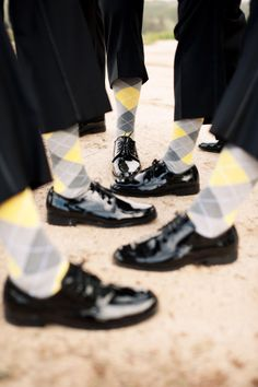 @Brittany Locklear I have officially decided that it is WAY beyond appropriate to have Jim sport the argile (spelling?) socks.