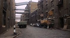 Wapping High Street, when it was still a working area. East End London, Old London, London Street, London City, London Location, London History, Industrial Architecture, London Calling, Forts