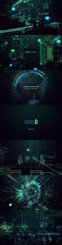 Standard-Chartered---Straight2Bank title design, Main Title Design, motiondesign, motion graphics, Motion, Design, Style Frames