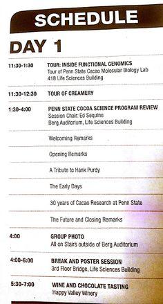 Red Investiga Innova Cacao Chocolate  -  Research Innova Cocoa Chocolate Network: Día 1 en Penn