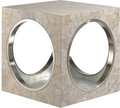 The Lacquer Company Circles & Squares Side Table at Barneys New York