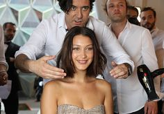 Bella Hadid Daily @BellaHadidDaily May 21 More Bella Hadid backstage at the Fashion For Relief show in Cannes. http://bellahadid.org/gallery