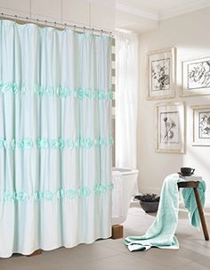 Dainty Home Rosette Fabric Shower Curtain with 3D Flowers... https://www.amazon.com/dp/B0199HW6Y2/ref=cm_sw_r_pi_dp_x_jMmQybE3DXYDC
