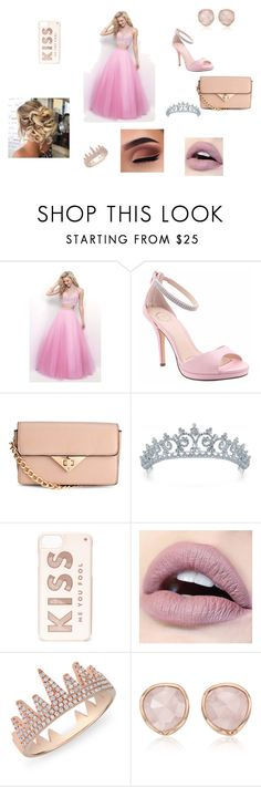 """""""Prom"""" by thatgirlpaula23 on Polyvore featuring Blush, I. MILLER, Bling Jewelry, Kate Spade, Anne Sisteron and Monica Vinader"""