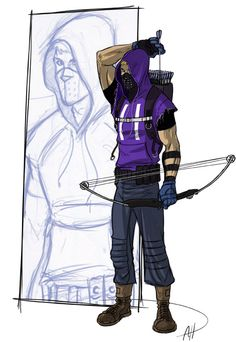 More real Hawkeye by deralbi on DeviantArt