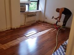 NYC Floor Pro inc projects - west end ave install