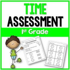 This 1st grade Time Assessment covers minutes, hours, time to the hour, and time to the half hour. It consists of 15 questions which are easy to administer and easy to grade. This resource includes a Time Pre-Test and a Post-Test. Check out the preview to see the assessment.Check out some of my other productsSubtraction Fact FluencyAddition Fact FluencySubitizing Made EasyFollow meFollow me on Teachers Pay Teachers.Click on the green star *Follow my blog for teaching resourcesFollow me on…