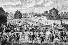 Hyde Park -- British History Online (image is Hyde Park on Sunday London History, British History, Vintage London, Old London, History Online, Green Street, British American, Regency Era, Hyde Park