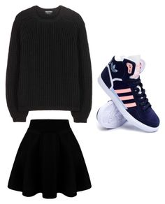 """Untitled #515"" by hannahjoyjacob on Polyvore featuring Tom Ford, adidas, women's clothing, women, female, woman, misses and juniors"