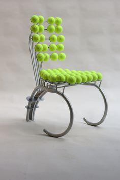 1980s Tennis Chair Wimbledon | Decorative Modern