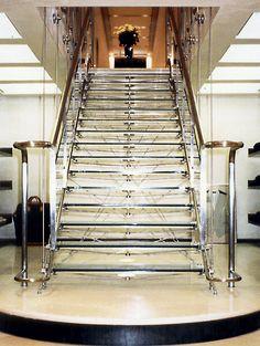 Eva Jiricna - glass stairs
