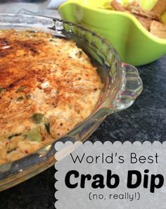 crab rangoon dip A hefty claim, I know, to deem this recipe The best crab dip in the whole wide world, but when it hits the appetizer table, they swarm and its. And between mouth Crab Appetizer, Yummy Appetizers, Appetizer Recipes, Party Appetizers, Best Crab Dip, Best Crabs, Crab Dip Recipes, Seafood Recipes, Sauces