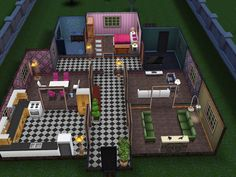 My main problem with the Sims Freeplay for ipad is how much I enjoy designing their houses. Its a problem. Its a serious problem. Because I love it. I dont even have enough sims for all the houses Ive built. The last five of these are still empty.