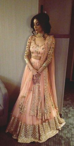 New royal bollywood pink and golden lehenga for bridal . For order whatsapp us on blouse combinations blouse saree blouse work blouse dupatta blouse blouse blouse blouse blouse blouse lengha Mode Bollywood, Bollywood Fashion, Indian Lehenga, Lehenga Choli, Anarkali, Pakistani Dresses, Indian Dresses, Punjabi Wedding Dresses, Indian Bridal Outfits