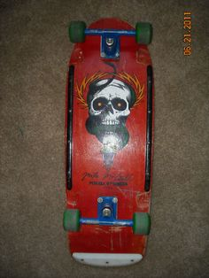 1984 Powell Peralta Mike McGill Vintage Skateboard.