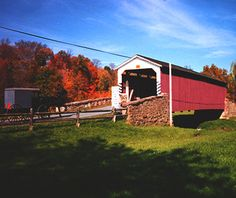 Weaver's Mill Bridge, East Earl, PA German-influenced Lancaster County is known for its family farms, markets, and frozen-in-time tableaux. ...