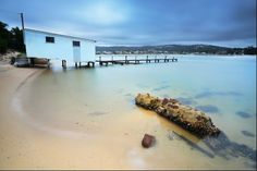 A new release from Merimbula on the Sapphire Coast of New South Wales. Boat Shed, South Wales, Landscape Photography, Sapphire, Coast, Happiness, Australia, Gallery, Water