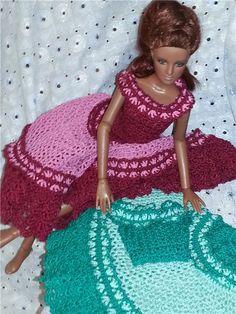 И вновь два платья (куклы Тоннер)