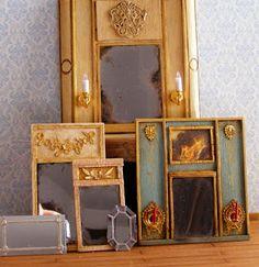 Little Things: DIY Miniature mirrors