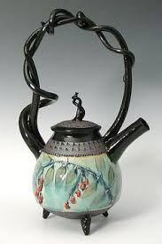 hand thrown teapot - Google Search