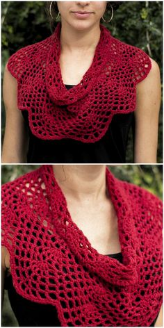 Crimson Cowl Crochet 2019 The post Crimson Cowl Crochet 2019 appeared first on Scarves Diy. Crochet Shawl Free, Crochet Cozy, Crochet Scarves, Crochet Crafts, Crochet Clothes, Crochet Stitches, Crochet Projects, Knitting Patterns, Crochet Patterns