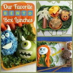 Bento Box Lunch Ideas | Spoonful If it looks appetizing, the children will eat a healthy lunch.