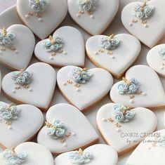 unicorn heart cookies | mint_lemonade | Flickr