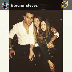 RG @bruno_stevez: Good to see my lovely spanish friends last night ❤️
