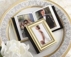 Little Book of Memories Gold Mini Photo Album