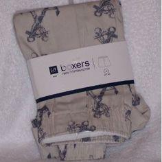 Gap Boxers Underwear Boxer 100% Cotton Anchor Nautical Motif (Apparel)  http://balanceddiet.me.uk/lushstuff.php?p=B005MQWBLI  B005MQWBLI